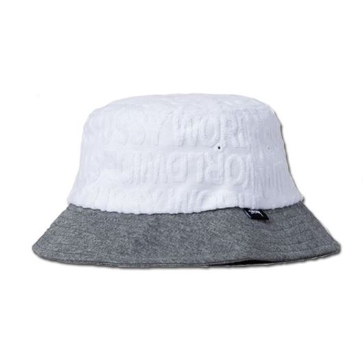 745a373335d Picture of Stussy Terry Bucket Hat White